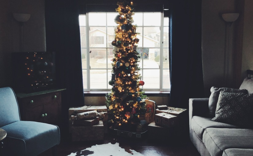 Travel themed christmastree!